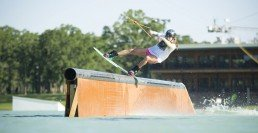 Wakeboard en cable park