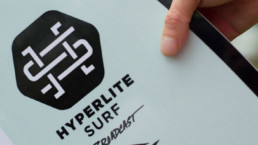 Detalle de tabla de wakesurf