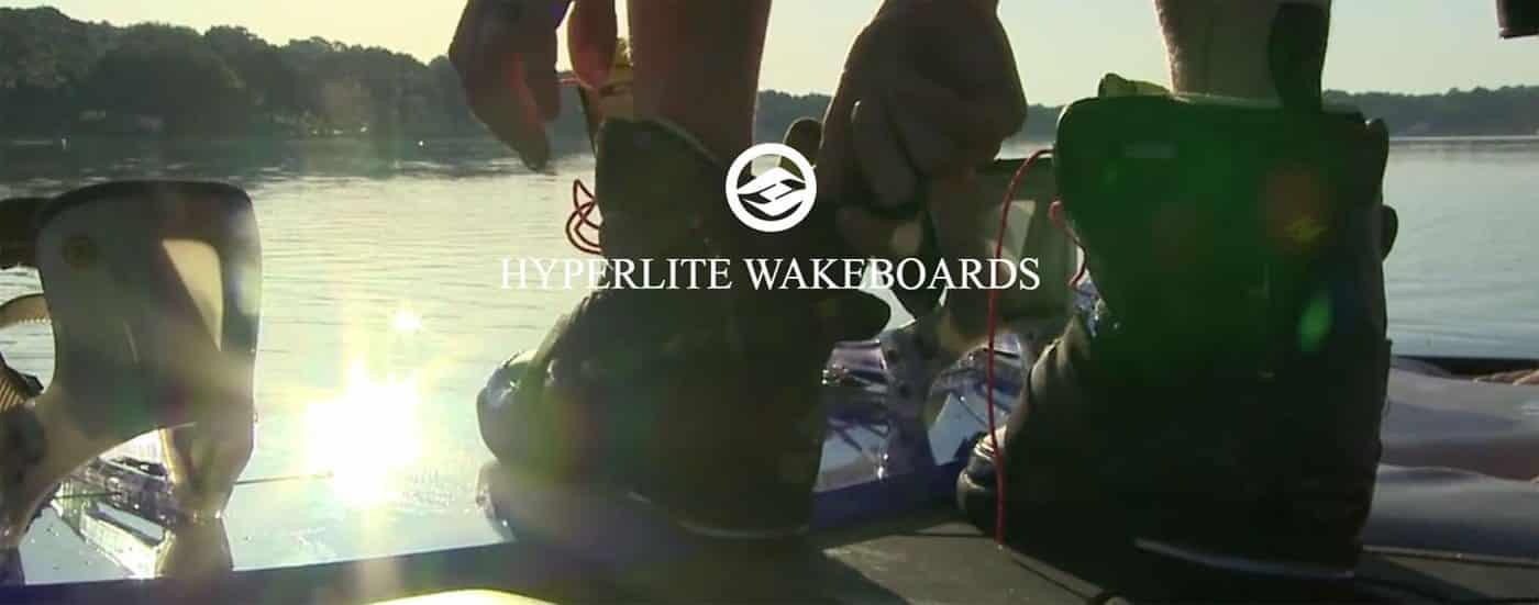 La gama de botas y fijaciones de wakeboard de Hyperlite