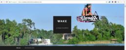 Salto de wakeboard