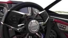 Control de volante de lancha Supra