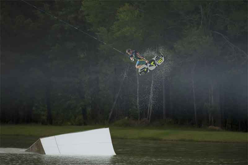 Cable park de wakeboard