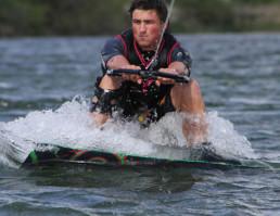 Salida en wakeboard
