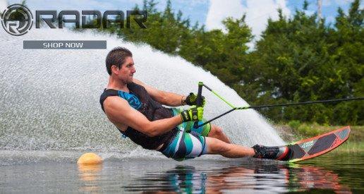 Esquí acuático con Radar Skis