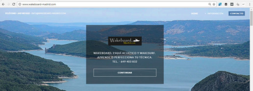 Escuela de wakeboard y esqui acuatico