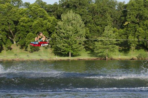 Longitud del cabo de wakeboard