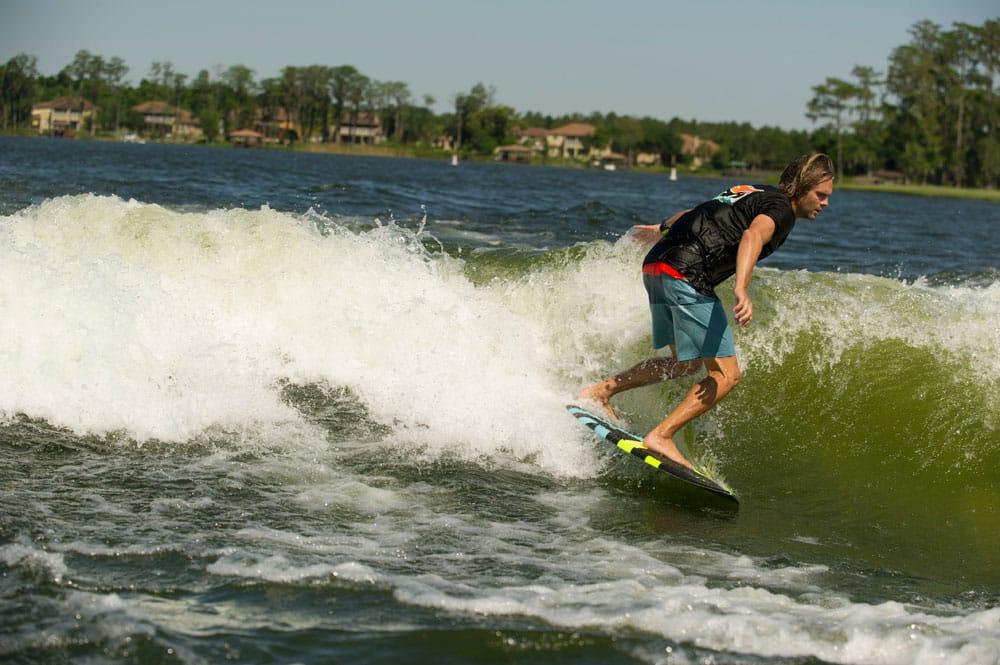 Mejorar la ola para hacer wakesurf