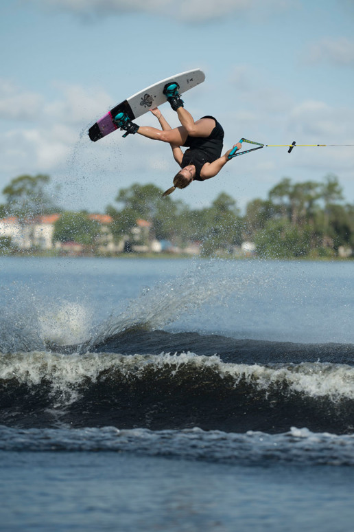 Trucos wakeboard: backroll