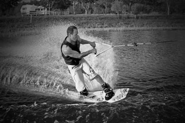 Canteo de puntas en wakeboard
