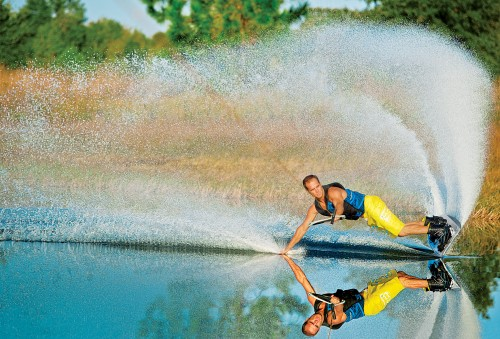 Powerslide en wakeboard