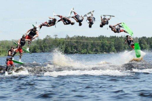 Trucos de wakeboard