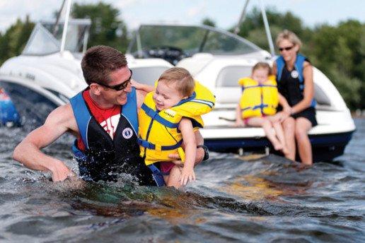 Seguridad en el barco con niños