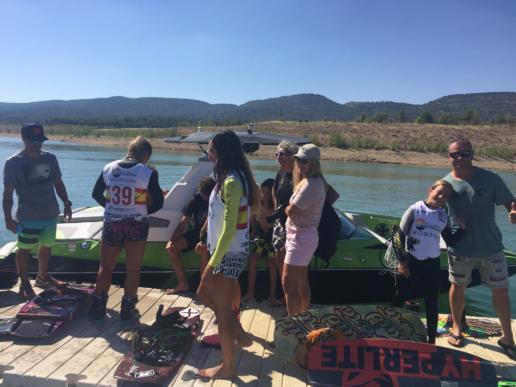Categoría femenina del Campeonato de España de wakeboard 2018