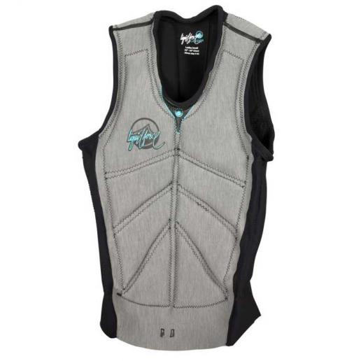 Chaleco wakeboard para mujer Liquid Force Cardigan
