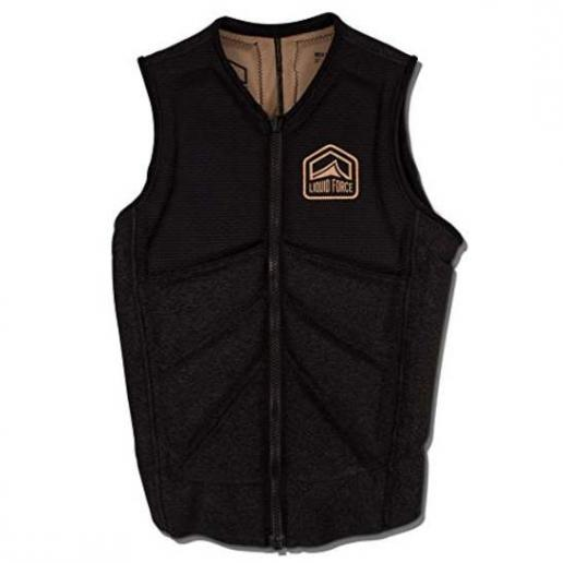 Chaleco Liquid Force Z-Cardigan negro