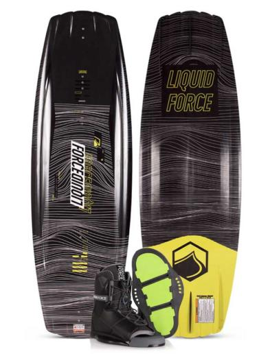 Pack tabla y botas de wakeboard liquid force classic + transit