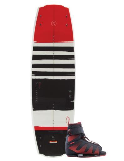 Pack de wakeboard con tabla Franchise y botas Session