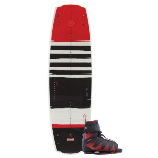 Pack de wakeboard con tabla Franchise y botas Session