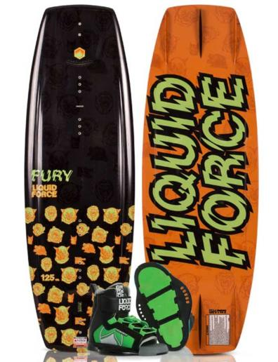 Pack de wakeboard Liquid Force Fury y Rant