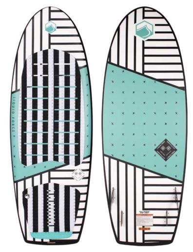 Tabla de wakesurf liquid force Happy Pill 4.10