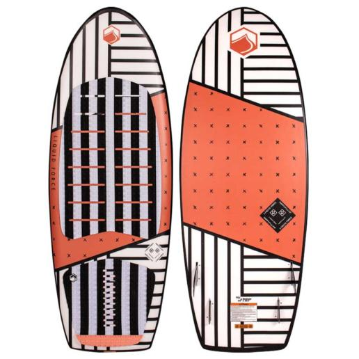 Tabla de wakesurf liquid force Happy Pill 4.6