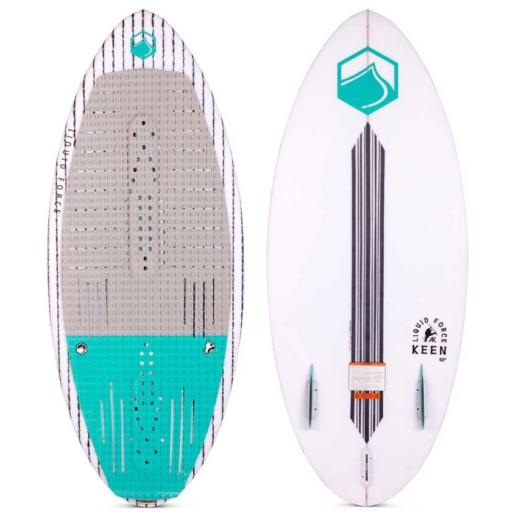Tabla de wakesurf liquid force Keen 52