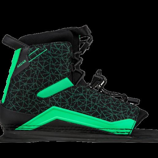 Botas de esquí acuático para mujer Radar Lyric en verde