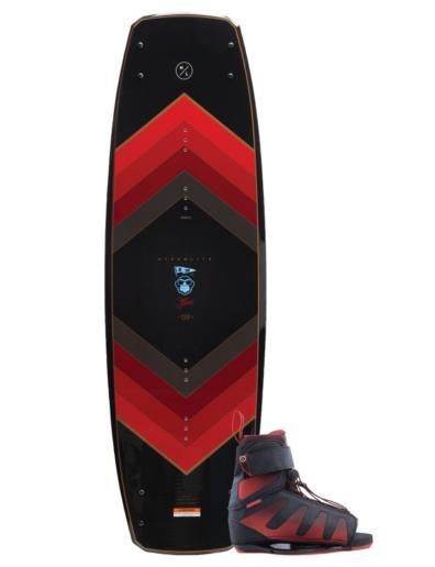 Pack de wakeboard con tabla Murray y botas Session