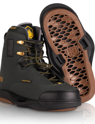 Botas de wakeboard liquid force peak 4D