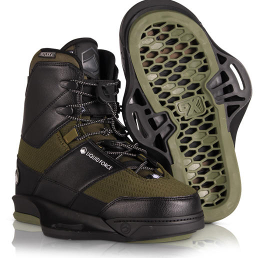 Botas de wakeboard liquid force peak 6X