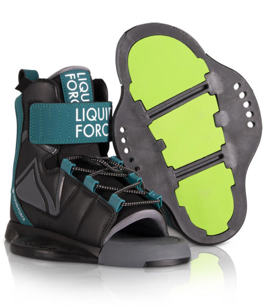 Botas de wakeboard liquid force rant