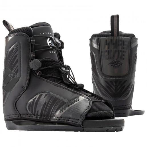 Botas de wakeboard Hyperlite Remix All Black