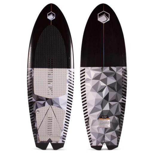 Tabla de wakesurf liquid force rocket 5.4