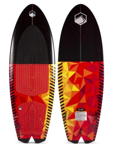 Tabla de wakesurf liquid force rocket 5