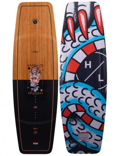 Tabla de wakeboard para cable Hyperlite Freepress