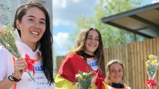 Telma Cester campeona del mundo de wakeskate