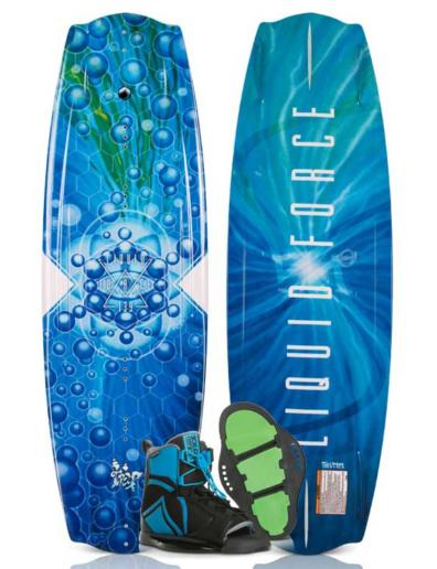 Pack de wakeboard Liquid Force Trip y Index