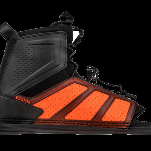 Botas de esquí acuático Radar Vector BOA en naranja