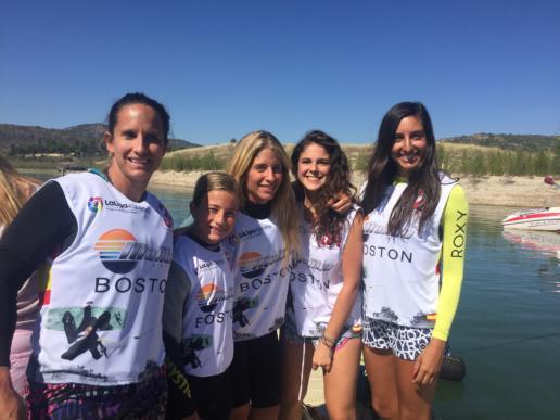 Chicas del Campeonato de España de Wakeboard y Wakeskate